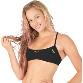 arena Be Bandeau top Donna, black-yellow star